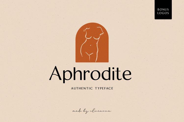 Aphrodite Sans Serif Font example image 1