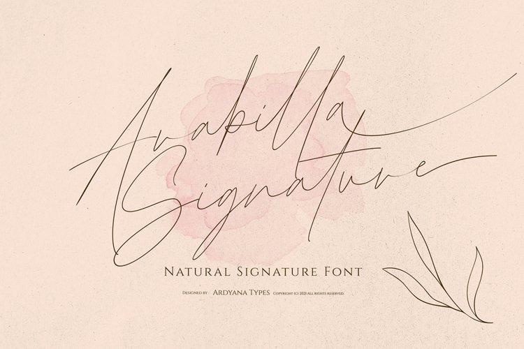 Arabilla Signature