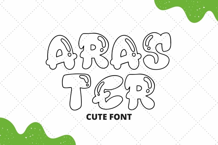 Web Font Araster Font example image 1