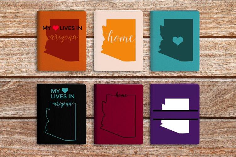 Arizona SVG design set