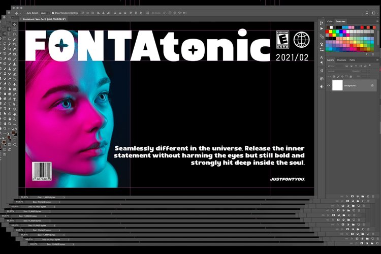 Fontatonic - Bold Sans Serif Fonts example image 1