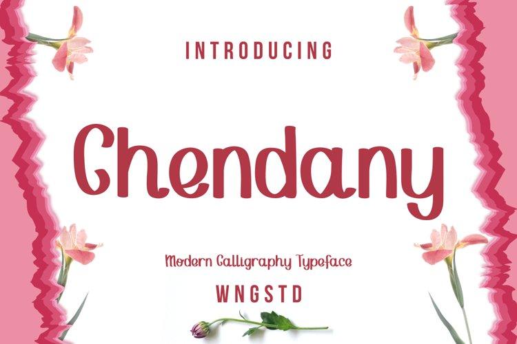Chendany - Modern Calligraphy example image 1