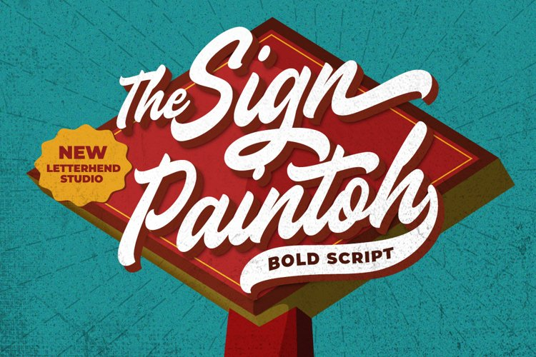 The Sign Paintoh - Bold Script example image 1