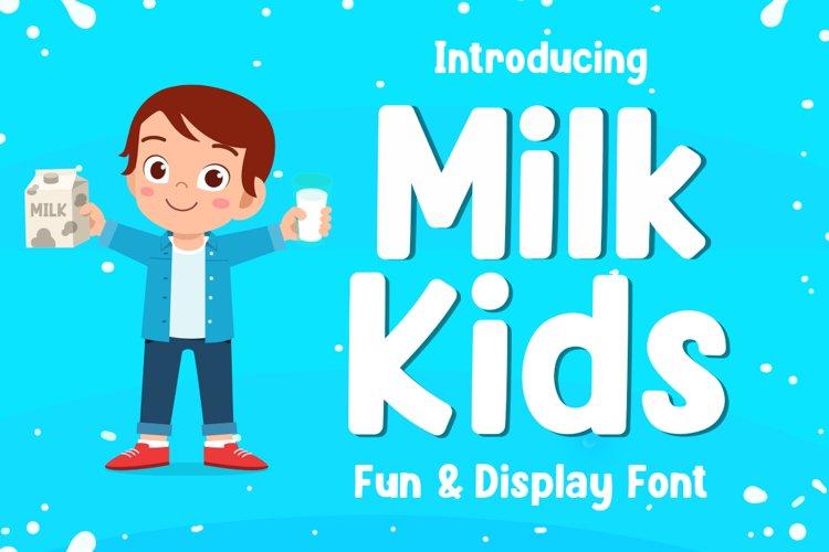 Milk Kids example image 1