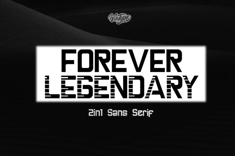 Forever Legendary example image 1