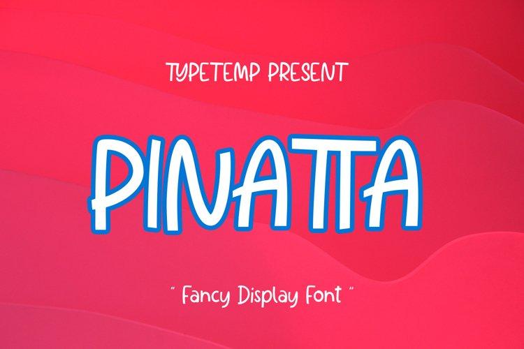 Pinata Fancy Display example image 1