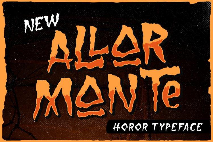 Allarmante - Horror Font example image 1