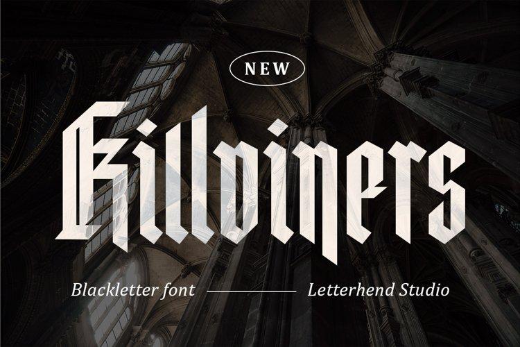 Killviners - Modern Blackletter Font example image 1