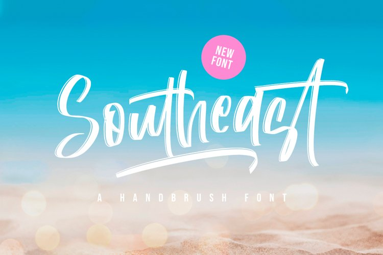 Southeast - Summer Font example image 1