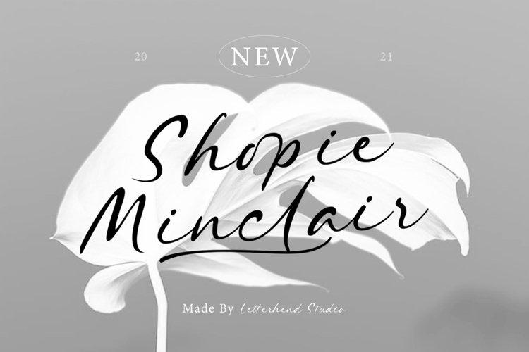 Shopie Minclair - Signature Script example image 1