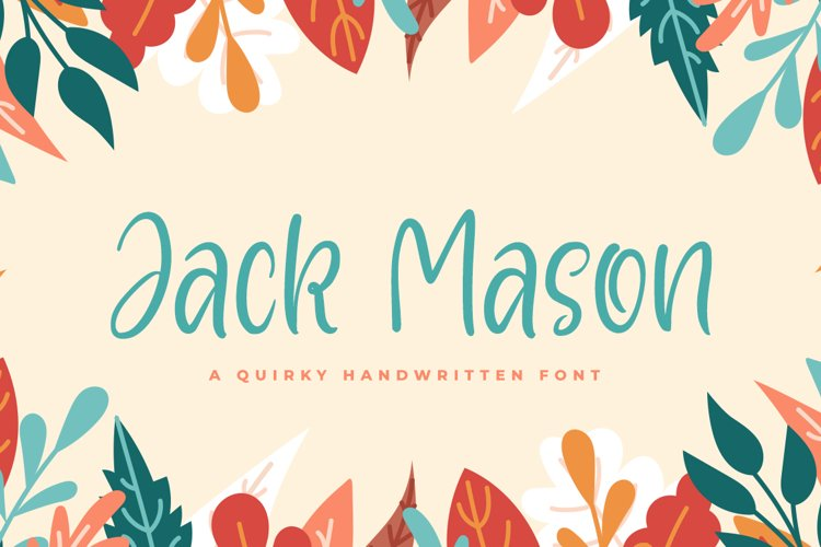 Jack Mason - Playful Font example image 1