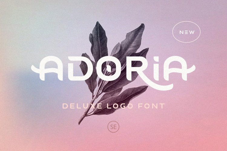 Adoria - Deluxe Logo Font example image 1
