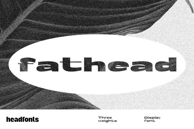 Fathead Display Font example image 1