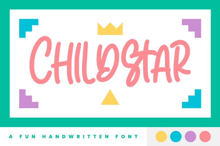 Childstar - Display Font example image 1