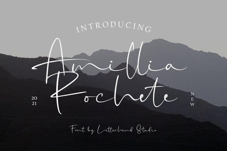 Amillia Rochete - Signature Script example image 1