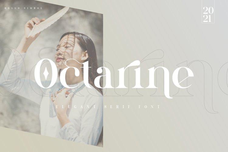 Octarine | Serif Font example image 1