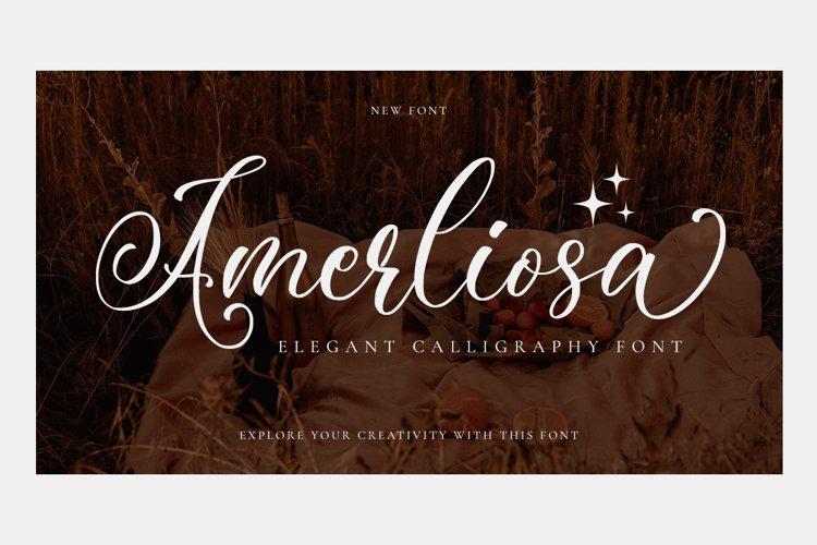 Amerliosa - Elegant Font example image 1