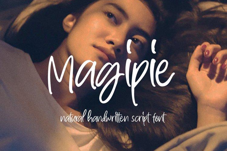 Magipie - Handwritten Script example image 1