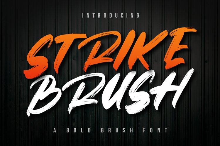 Strike Brush example image 1