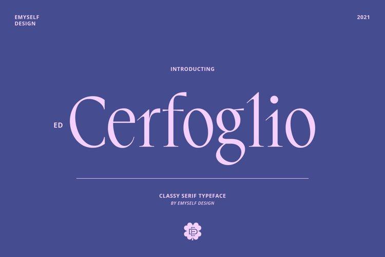 ED Cerfoglio example image 1