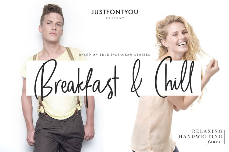 Breakfast and Chill - Handwriting Fonts example image 1