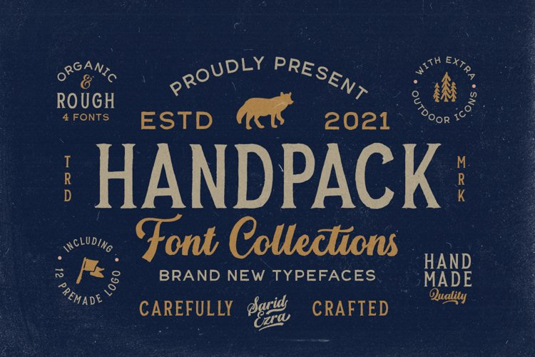 Handpack Font Collections example image 1