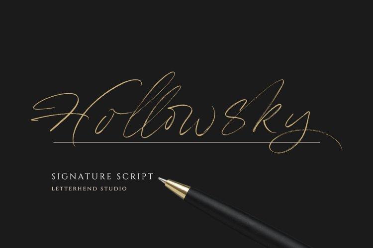 Hollowsky - Signature Script example image 1