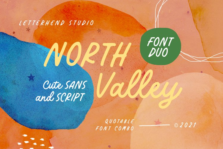 North Valley - Cute Sans and Script example image 1