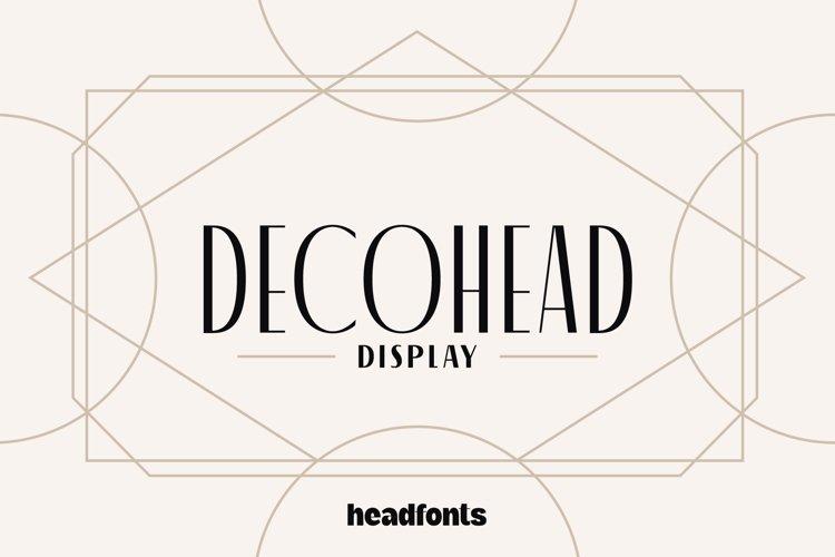 Decohead Display example image 1