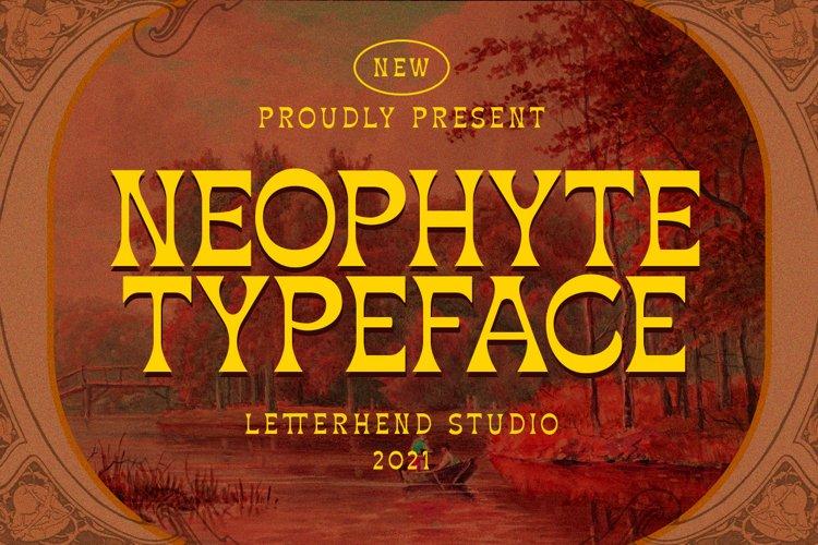 Neophyte Typeface