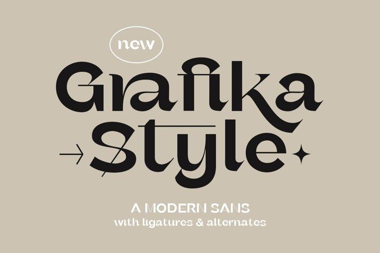 Grafika - Modern Sans example image 1