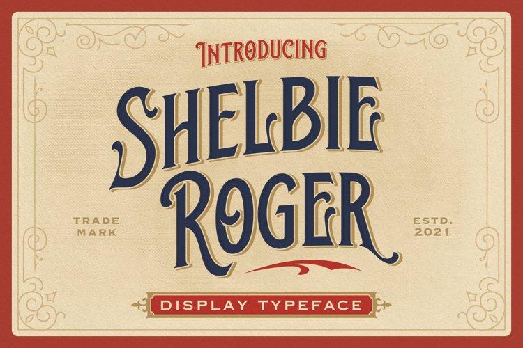 Shelbie Roger - Vintage Display Font example image 1