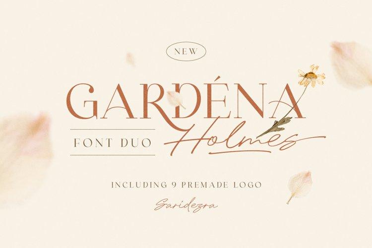 Gardena Holmes - Font Duo example image 1