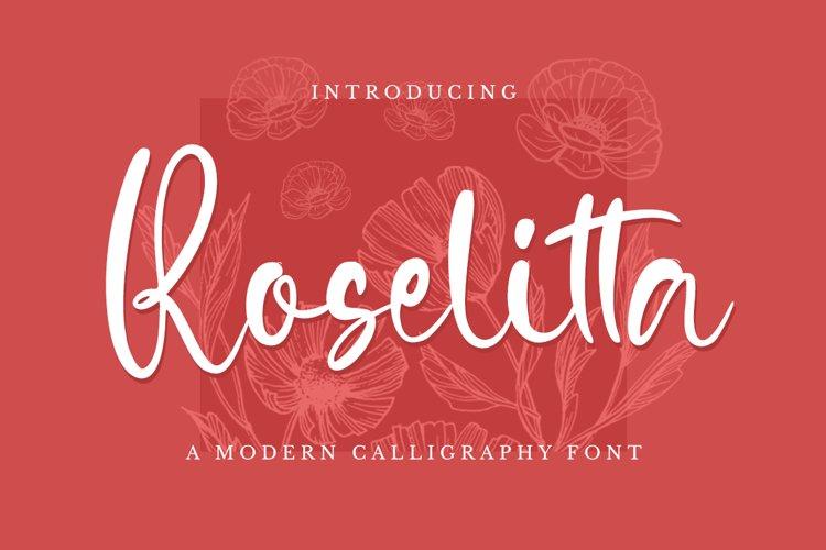 Roselitta example image 1