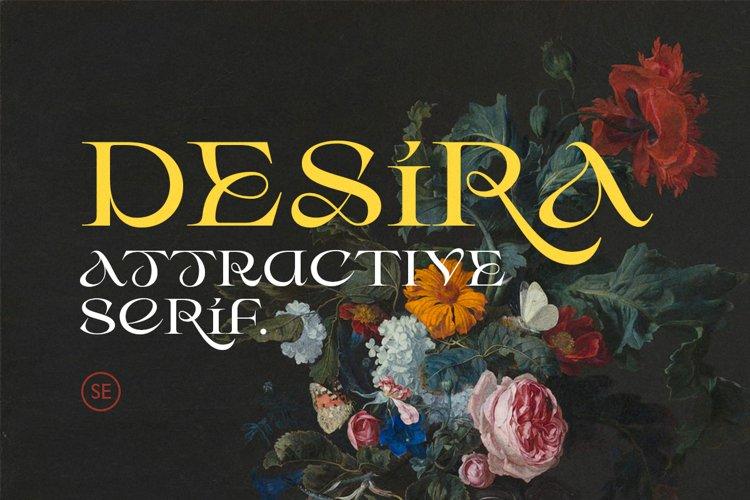 Desira - Attractive Serif example image 1