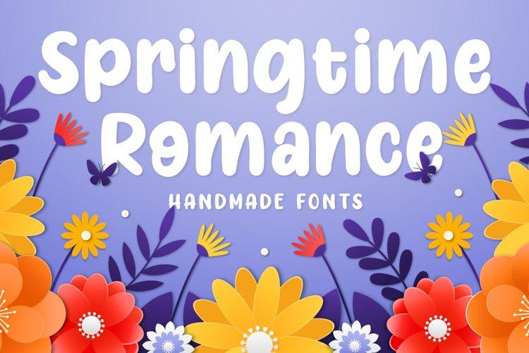 Springtime Romance example image 1
