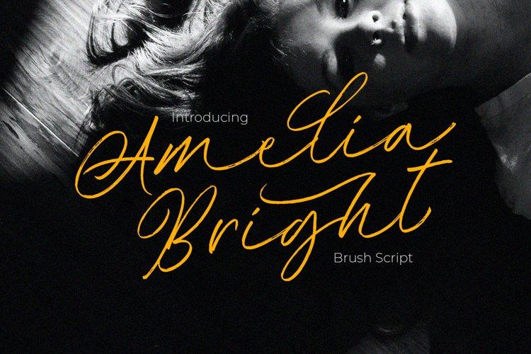 Amelia Bright - Handwritten Script example image 1