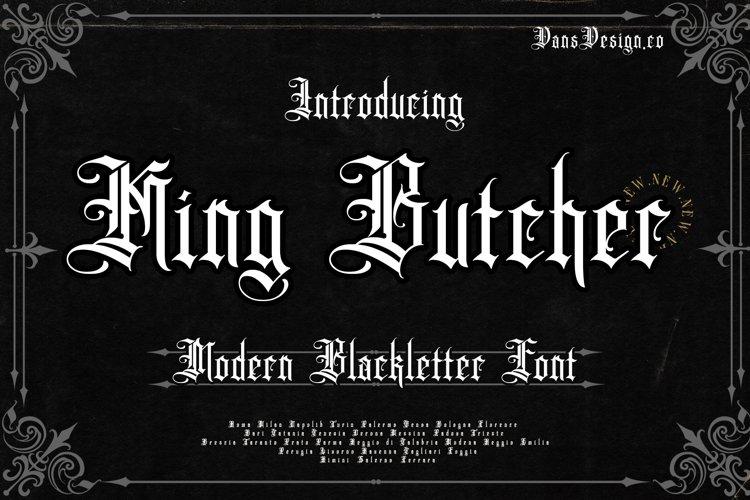 King Butcher example image 1