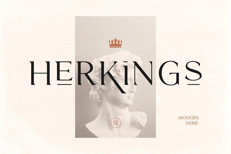 Herkings - Minimalis & Modern Serif example image 1
