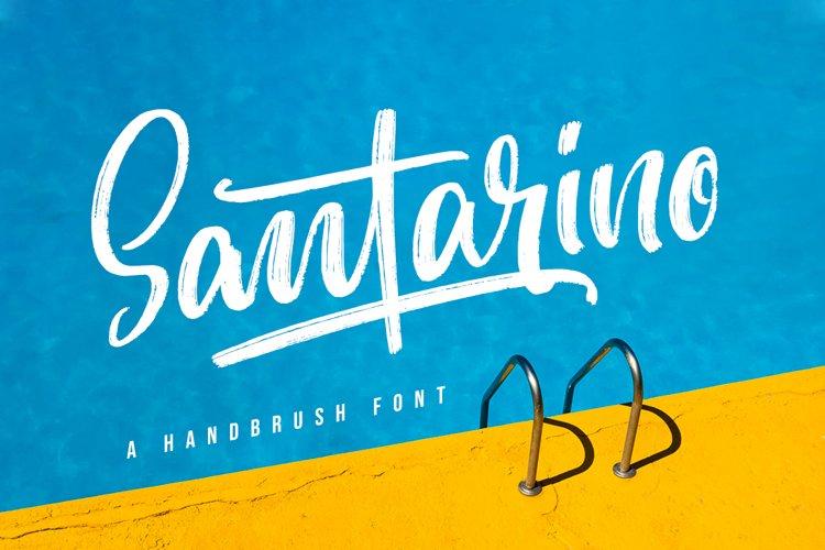 Santarino - Summer Font example image 1