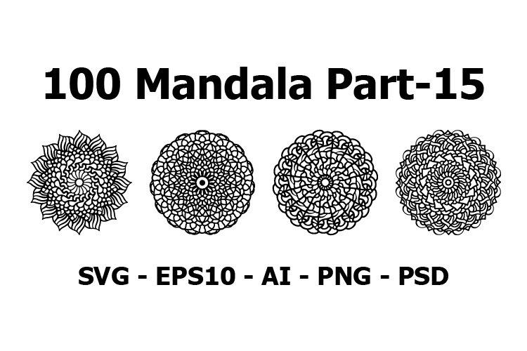 Bundles Vector Mandala 100 tattoo and Pattern