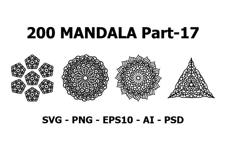 various mandala collections 200 Ethnic Mandala ornament