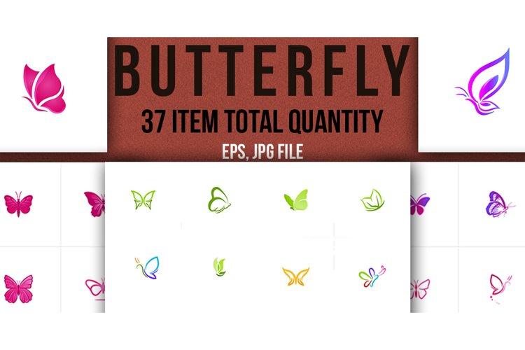 Butterfly Logo Bundle