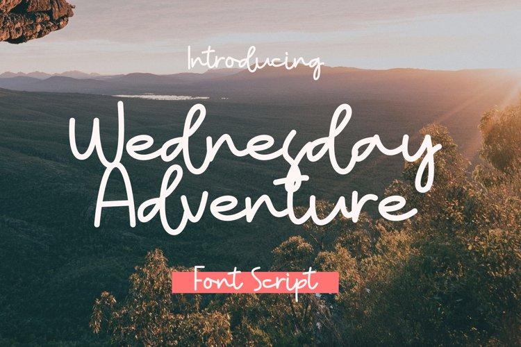 Wednesday Adventure example image 1