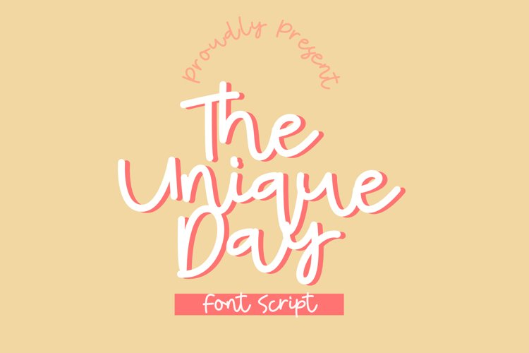 The Unique Day example image 1