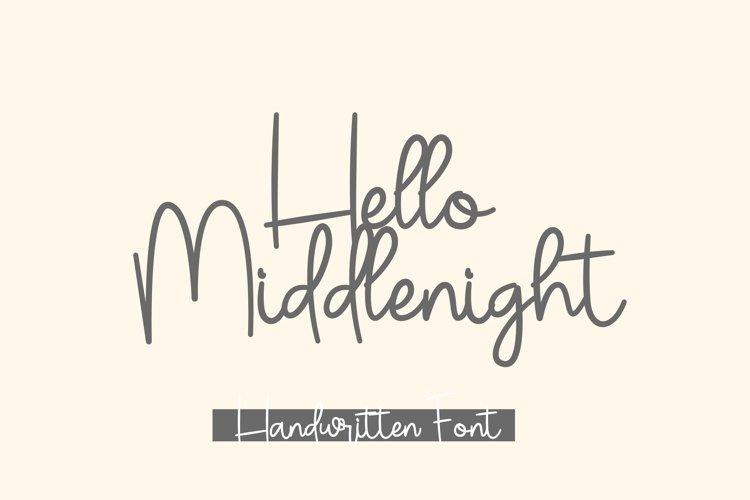 Hello Middlenight example image 1