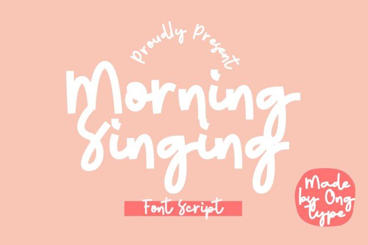Morning Singing example image 1