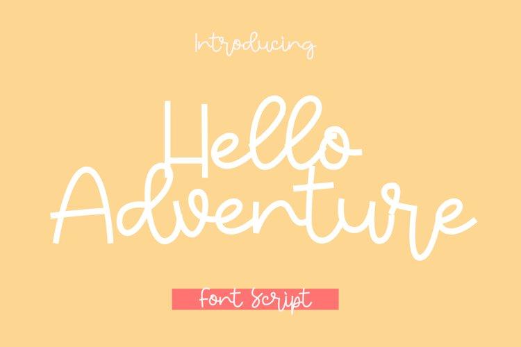 Hello Adventure example image 1