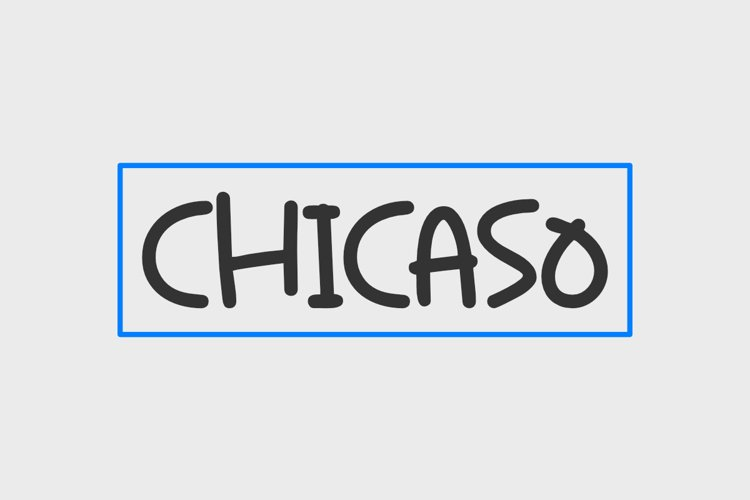 Chicaso - A Fun Handwritten Font example image 1