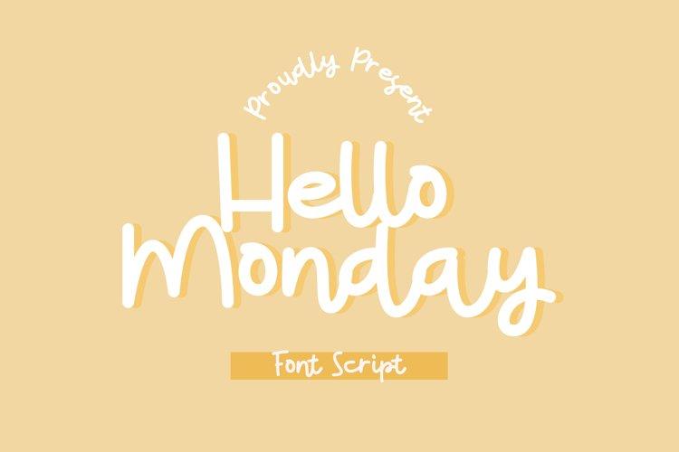 Hello Monday example image 1